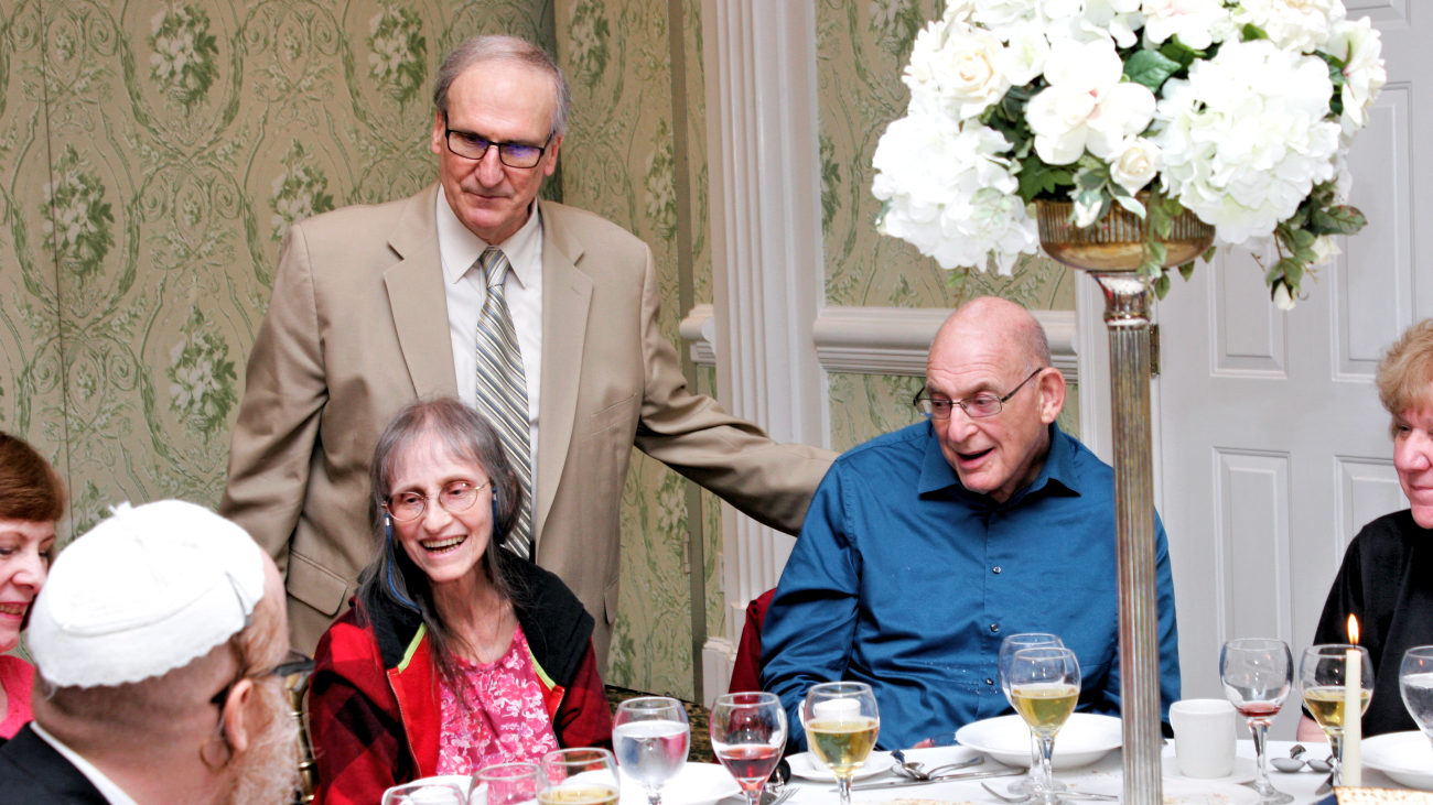 Passover 2019 Tom Huckel with Guests